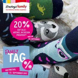 Ernstings family Family Tag 22.09.2017 - 27.09.2017