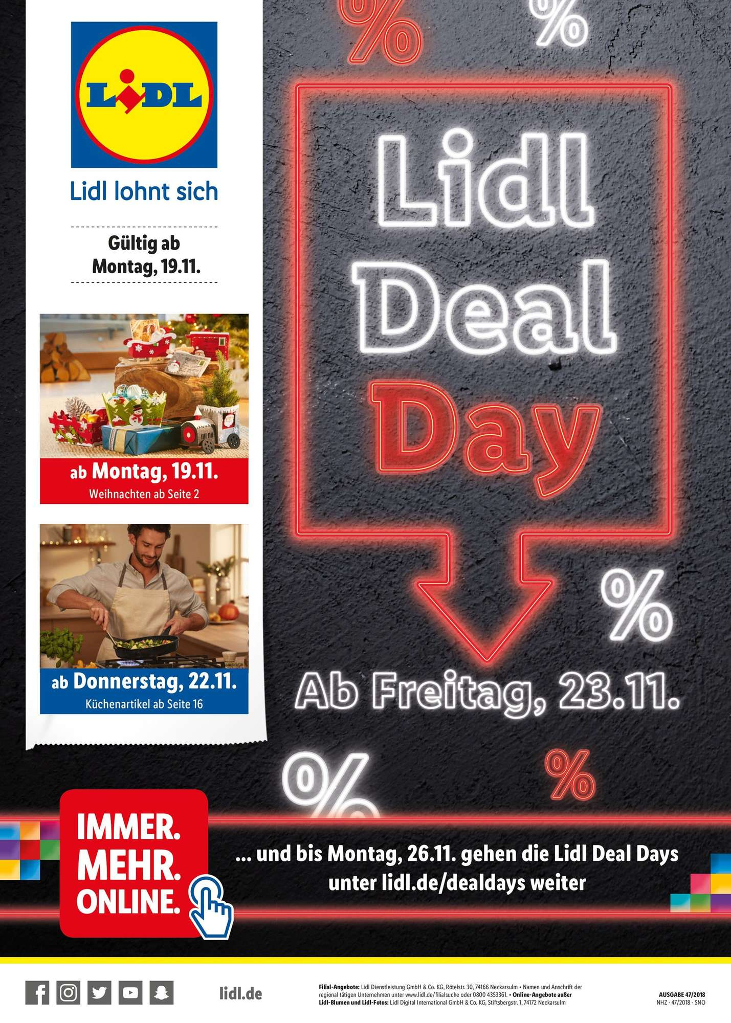Lidl Lidl Daily Deal 19112018 24112018