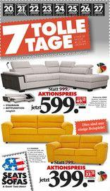 Seats and Sofas 7 tolle Tage 20.01.2018 - 27.01.2018