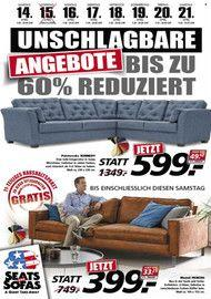 Seats and Sofas Unschlagbare Angebote 14.04.2018 - 21.04.2018